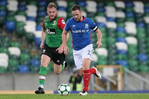 Glentoran's game against Linfield at Windsor Park in January will be shown live on Sky Sports