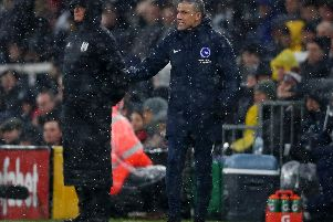 Chris Hughton. Picture: Getty Images