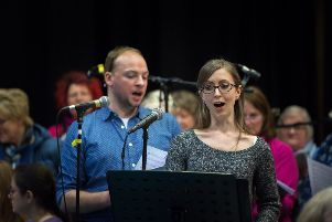 Soloists Steven Irwin and Sarah Richmond. Photos: Vincent Taggart.