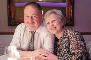 Adrian and his wife Eileen.