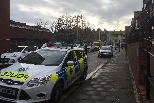 Chatsworth Road has been closed by police