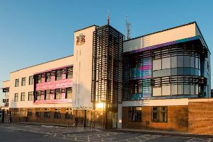 Library image of Thames Valley Police's headquarters