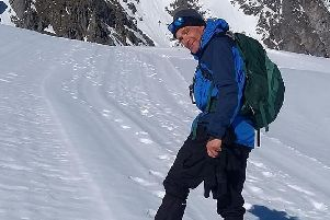 Dr Robert Bailey. Photo: PGHM Chamonix Mont-Blanc