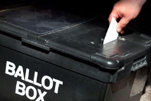 Voters go to the poll on May 2.