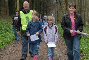 Glenarm Walkers are not holding an Easter Trail on Easter Monday. (stock image).