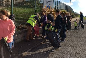 A Big Spring Clean took place recently at St. Anthony's Nursery School.