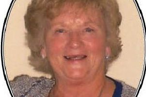 Valerie McGookin, who was a well-known and respected member of the Larne community.