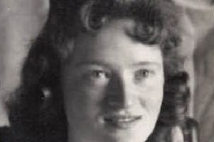 Valerie McGookin in her younger days.