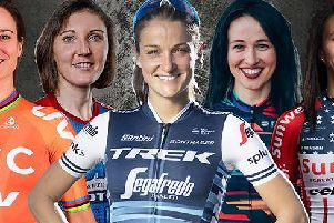A host of star names are set to line-up in Warwick for the OVO Women's Tour.