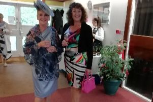 Two of the 'Ladies who Lunch' participants.