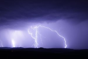 Thunderstorms are predicted in Peterborough and Cambridgeshire