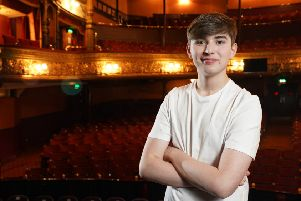 Larne student Nathan Johnston is set to take centre stage at the Grand Opera House this summer'Photo by Aaron McCracken