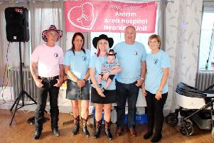 Larne Line Dancers have held a very successful fundraising event on Saturday night, June 22, in in Larne Masonic Club, Mill Brae.