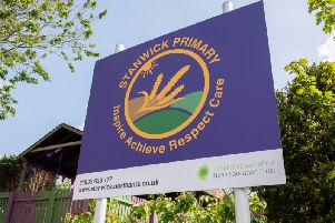 Pupils and staff at Stanwick Primary Academy are celebrating.