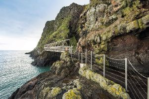 The Gobbins is contributing to tourism growth in the borough.