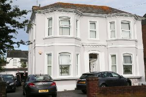 HMRC officers were seen on the premises of Najefy & Co accountants in Victoria Road, Worthing
