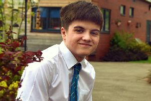 Charlie Goddard (15), a pupil of Melton's Long Field Academy who swam the English Channel as part of a charity challenge EMN-190815-170137001