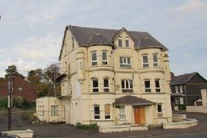 The original Curran Court Hotel.