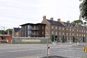 An Artist's impression of the apartments planned for Ebrington.