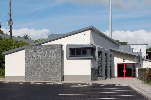 The new church hall.