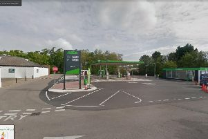 Police said Asda was burgled in the early hours of Sunday morning