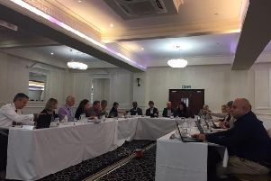 The problems with racism against healthcare professional was aired at yesterday's CCG board meeting.
