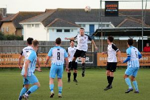 Pagham in action v AFC Uckfield / Picture: Roger Smith