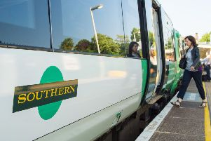 There is disruption on the railway line between Haywards Heath and Lewes