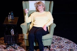Libby Smyth as Belfast singer Ruby Murray
