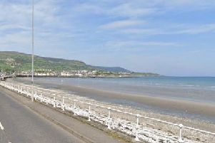 Bay Road, Carnlough (image by Google).