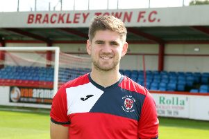 James Armson bagged both goals for Brackley Town against York City