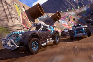 Onrush is a 'racing' game in the loosest sense of the word.. and that's no bad thing