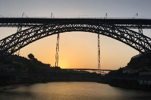 The Iconic Bridge in Porto built by student of Eiffel
