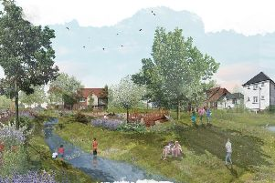 Artist impression of Myton Green. Image submitted.
