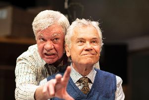 Matthew Kelly and David Yelland. Picture: Helen Maybanks