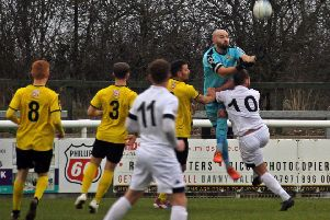 Tony Breeden enjoyed an eventful afternoon as Brakes overcame Witton Albion in the FA Trophy. Pictures: Sally Ellis