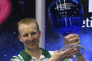 Nicky Brett was world indoor singles champion in 2016.