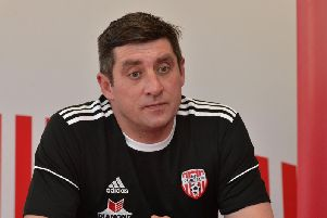 Derry City manager, Declan Devine.