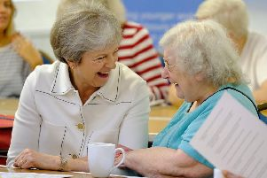 Prime Minister Theresa May launched the UK's first loneliness strategy in October