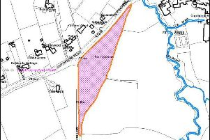 Site of the planned gypsy and traveller site in Copthorne SUS-190213-171056001