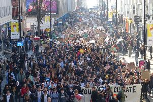 Youth Strike 4 Climate march in Brighton(Photograph: Eddie Mitchell)
