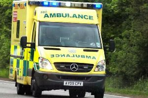 A man was taken to hospital after a crash on the Fosse Way this morning.