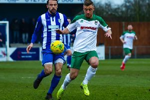 Mason Walsh returned to the side at Bishop's Stortford / Picture by Tommy McMillan