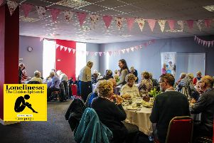 The monthly tea parties are a relaxed environment for socialising