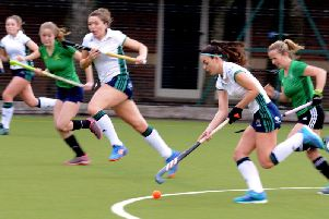 Chi ladies in recent action against Lewes / Picture by Kate Shemilt