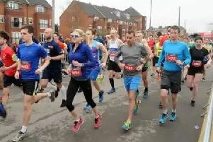 Photo from a previous Warwick Half Marathon. Photo by Morris Troughton-Hume