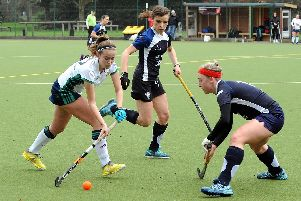 Jess Gleeson gets Chichester on the front foot v Haslemere / Picture by Kate Shemilt