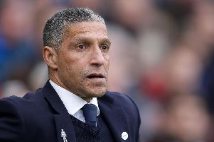 Brighton and Hove Albion manager Chris Hughton