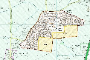The Arras Boulevard site is marked as H27 in the Warwick District Council's Local Plan.
