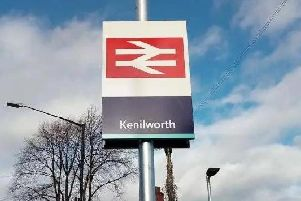 The incident happened on the Kenilworth railway line this morning.